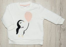 H&M 68 nowa ciepła polarowa bluza