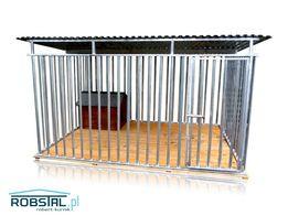 Kojec dla psa MAJA 3x2 kojce dla psów klatki legowiska boksy WYPRZEDAŻ