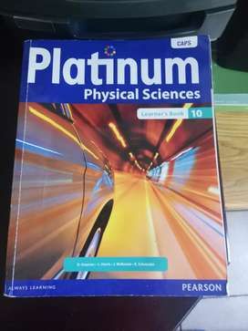 Physical science grade 10 and 11