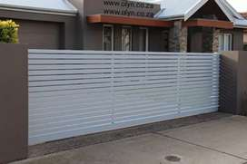 STEEL DRIVEWAY GATES AND FENCING FENCING