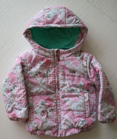 Куртка для девочки, 86 размер, демисезонная, СОСТОЯНИЕ НОВОЙ Полтава - изображение 1