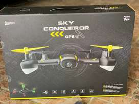 Brand New Sealed Sky Conqueror GPS Drone with Extra Battery for Sale..