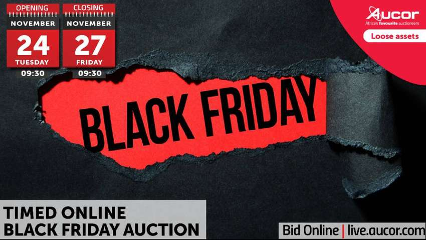 Timed Online Black Friday Auction 0