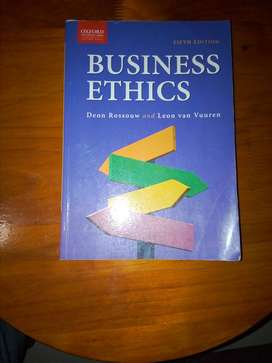 Business Ethics Textbook for sale