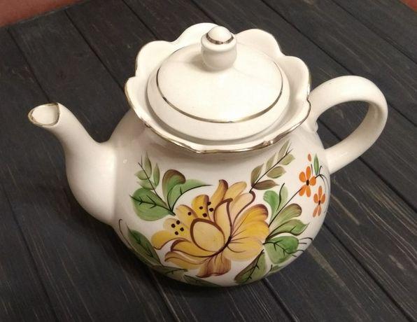 Чайник 20 см новый СССР штамп КК раритет
