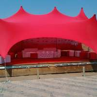 Image of Stretch tents and Deco