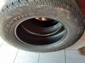265/60/18 Continental tyres