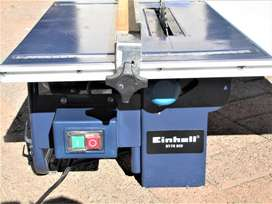 TABLE SAW EINHELL BT-TS800 WITH 200mm BLADE