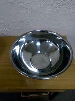 Кухонні миски з нержавіючої сталі 40 см і 38 см