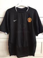 koszulka klubowa t-shirt manchester united vodafone piłka nozna