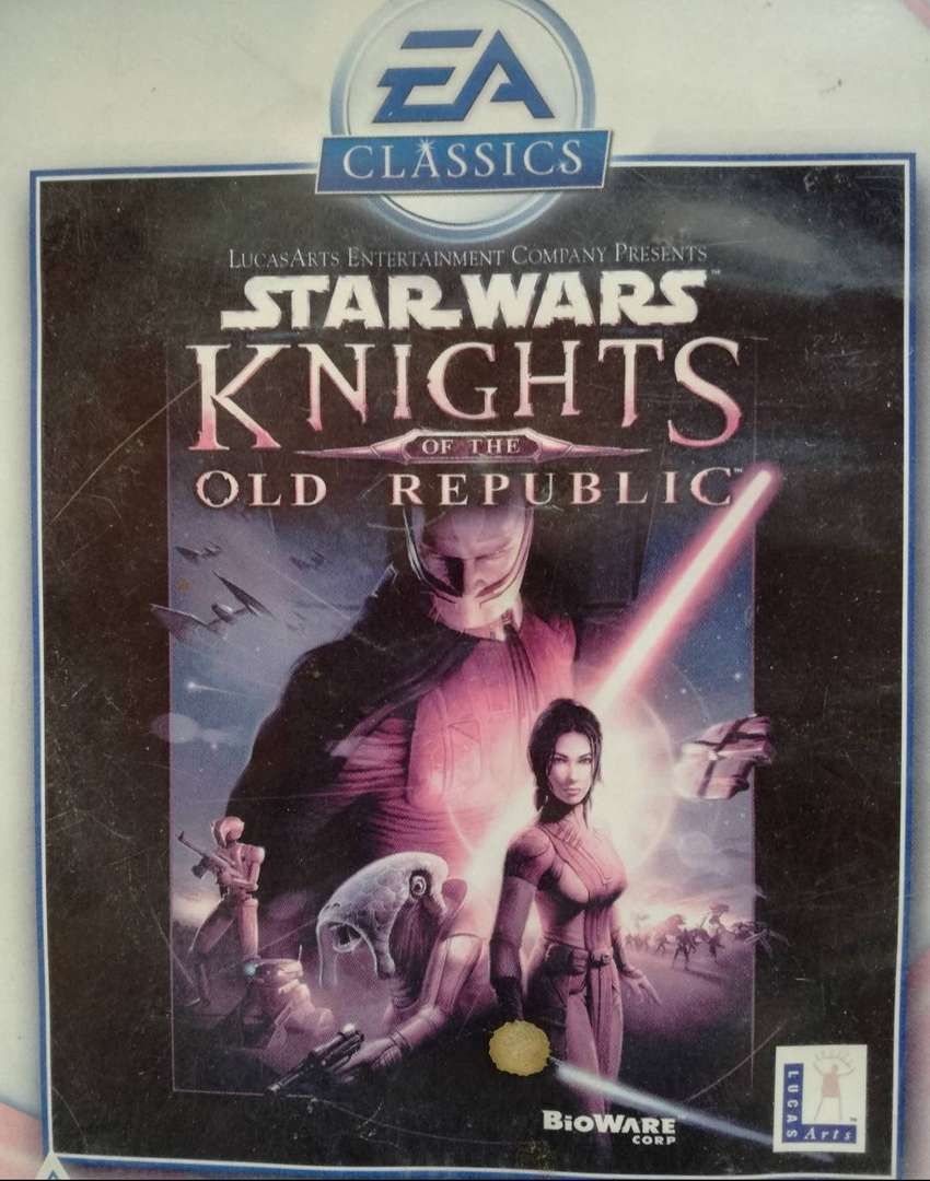 PC GAME STAR WARS: KNIGHTS OF THE OLD REPUBLIC 5 disk set 0