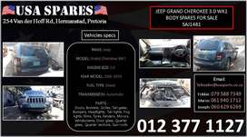 Jeep Grand Cherokee 3.0 WK1 used body spares for sale