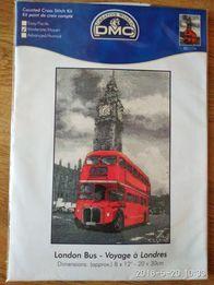 Набор для вышивания крестом DMC BK1174 London bus (автобус)