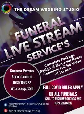 Live Streaming Services For Funeral