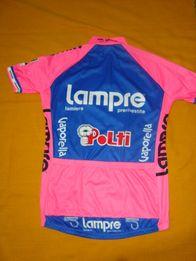 koszulka rowerowa damska Santini-Lampre -roz L-Extra-Italia