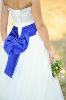 Шикарное свадебное платье Аnne-mariee XS айвори