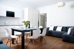 Apartament 2 pokoje - 50 m. do morza - BASEN / OGRÓDEK