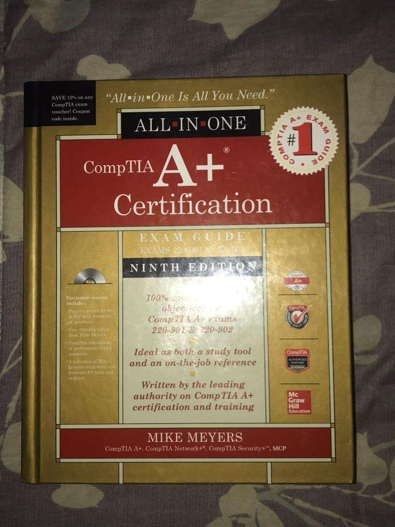 CompTIA A+ Textbook for any IT Degree brand new 0