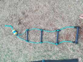 Boat rope ladder available