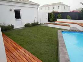 We do paving and installation of lawn grass