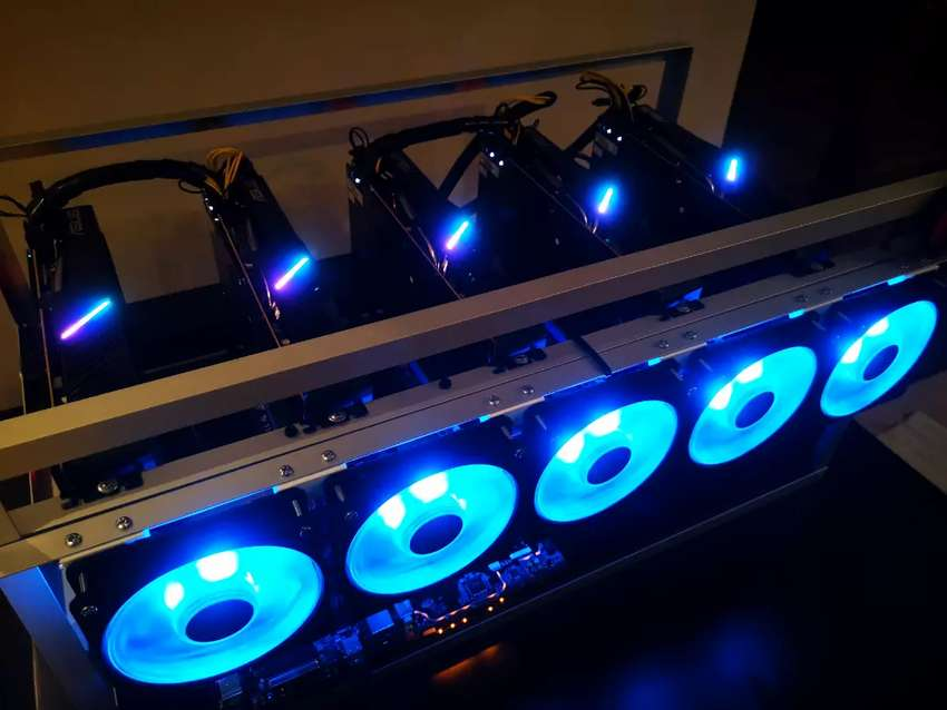Crypto Currency Mining Rig 0
