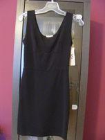 Nowa! czarna dopasowana sukienka