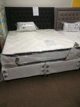 Pillow top king size base set