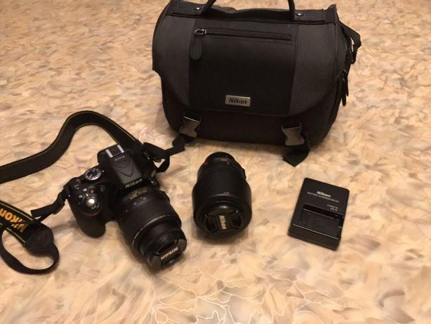 Продам фотоаппарат Nikon D5200 18-55 VR Kit + Nikkor 55-200 mm Баловка - изображение 5