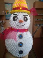 Фігурки, модульне орігамі на подарки, в школу, конкурси