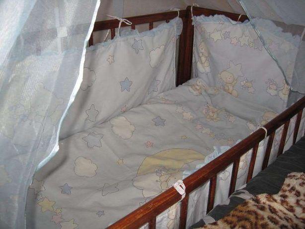 Комплект в детскую кроватку , держатель в подарок Ахтырка - изображение 1