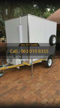 Image of Freezer trailer / cold room avaliable