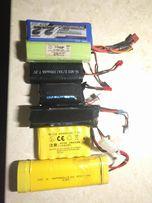 Литий-полимерные LiPo, никель-металлгидридные NiMh, NiCd аккумуляторы
