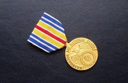 Оригинал-редкая медаль за службу в ВВС (Национальной гвардии США)