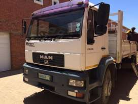MAN LE 18.280 Evolution 2000 and Mass trailer for sale