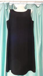Красивое классическое чёрное платье для беременных 48 50 L XL