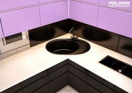 002 ALPINA Гранитная мойка для кухни, Без Посредников