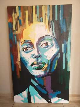 lm selling painting. price is neg