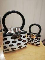 Ceramiczne kuferki na drobiazgi, biżuterię