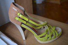 Босоножки туфли р.38 фирменные кожа Full circle