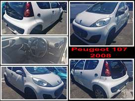 Peugeot 107, 2008 spares for sale.