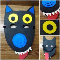 Карнавальная маска на Хеллоуин