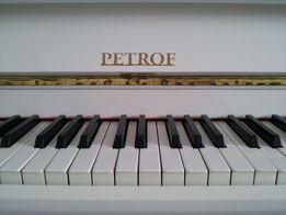Пианино Белое Фортепиано Petrof Петроф