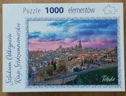 Puzzle 1000 elementów, Toledo,