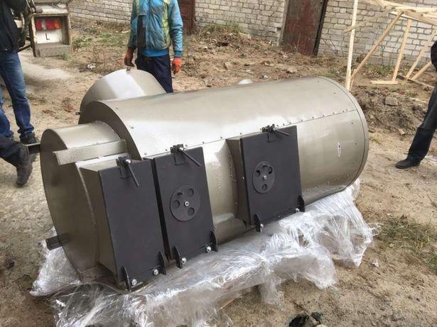 Теплогенератор на дровах 70 кВт