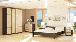 кровать Фантазия двухспальная , натуральное дерево ножки