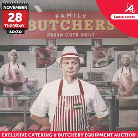 Exclusive Catering & Butchery Equipment Auction