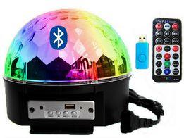 NOWA KULA Dyskotekowa Bluetooth Disco Laser LED RGB USB Bluetooth