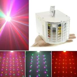 18W SOUND-ACTIVE LED RGBW DMX AMBIENT STAGE LIGHTING DJ PARTY SHOW EFF