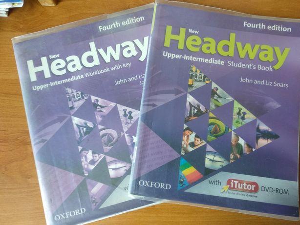 Книга+воркбук Headway Upper intermediate Fourth edition