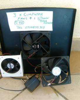 Used comuter fans